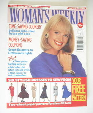<!--1989-10-10-->Woman's Weekly magazine (10 October 1989)