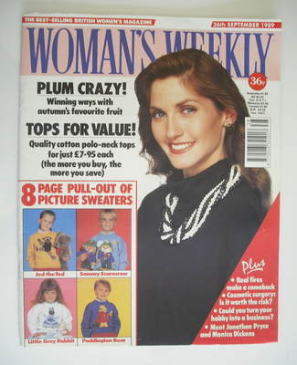 <!--1989-09-26-->Woman's Weekly magazine (26 September 1989)