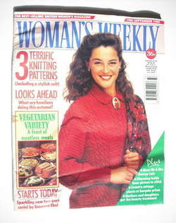 <!--1989-09-19-->Woman's Weekly magazine (19 September 1989)
