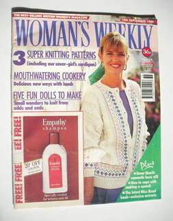 <!--1989-09-12-->Woman's Weekly magazine (12 September 1989 - British Editi