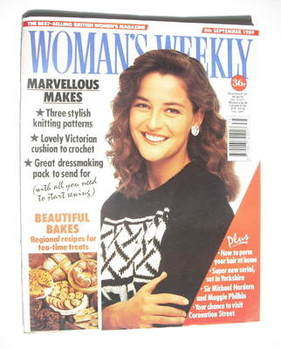 <!--1989-09-05-->Woman's Weekly magazine (5 September 1989 - British Editio