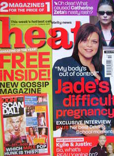 Heat magazine - Jade Goody cover (8-14 March 2003 - Issue 209)