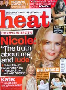 Heat magazine - Nicole Kidman cover (29 March - 4 April 2003 - Issue 212)