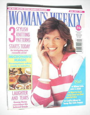 <!--1989-07-25-->Woman's Weekly magazine (25 July 1989 - British Edition)