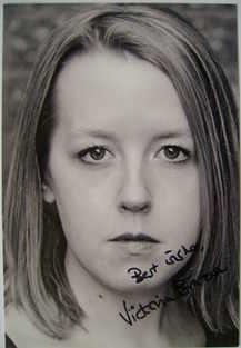 Victoria Brazier autograph