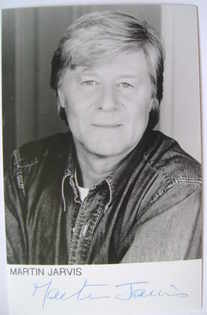Martin Jarvis autograph