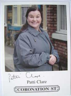 Patti Clare autograph