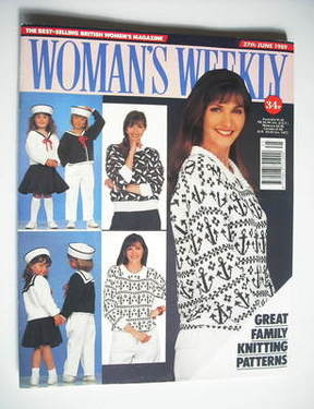 <!--1989-06-27-->Woman's Weekly magazine (27 June 1989 - British Edition)
