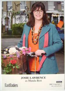 Josie Lawrence autograph