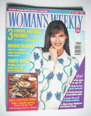 <!--1989-05-09-->Woman's Weekly magazine (9 May 1989 - British Edition)
