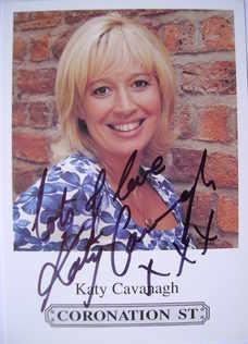 Katy Cavanagh autograph