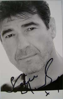 Steven Hartley autograph (hand-signed photograph)