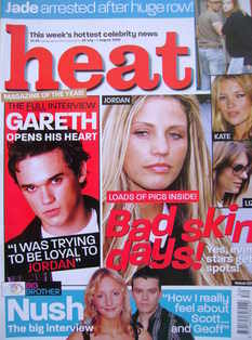 <!--2003-07-26-->Heat magazine - Bad Skin Days cover (26 July - 1 August 20