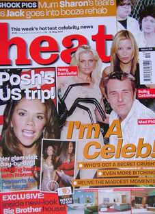 Heat magazine - I'm A Celeb! cover (10-16 May 2003 - Issue 218)