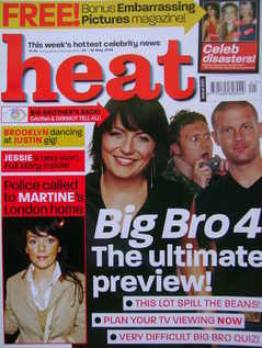 Heat magazine - Big Bro 4 cover (24-30 May 2003 - Issue 220)