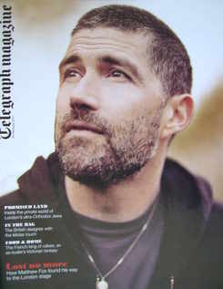 <!--2011-02-26-->Telegraph magazine - Matthew Fox cover (26 February 2011)