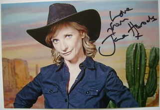Jane Horrocks autograph