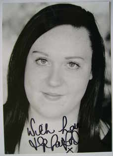 Hannah Harford autograph (hand-signed photograph)