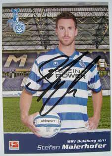 Stefan Maierhofer autograph