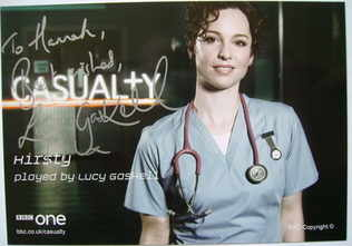 Lucy Gaskell autograph