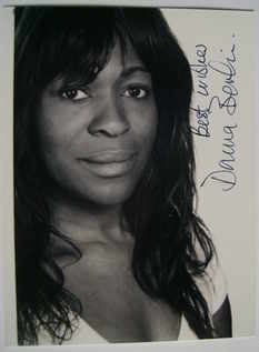 Donna Berlin autograph (hand-signed photograph)