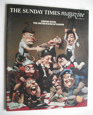<!--1976-11-07-->The Sunday Times magazine - The United States Of Europe co