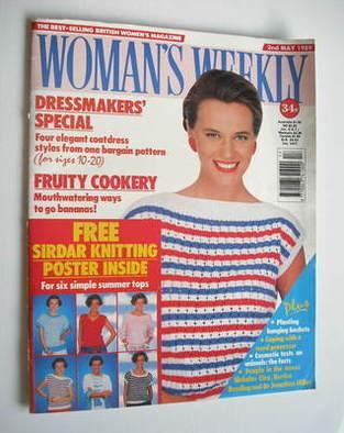 <!--1989-05-02-->Woman's Weekly magazine (2 May 1989 - British Edition)