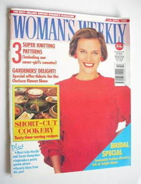 <!--1989-04-11-->Woman's Weekly magazine (11 April 1989 - British Edition)