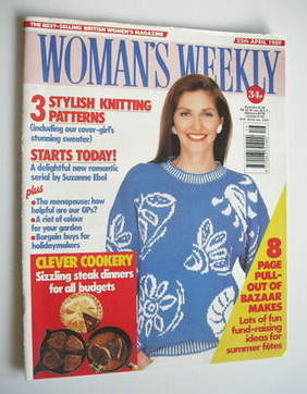 <!--1989-04-25-->Woman's Weekly magazine (25 April 1989 - British Edition)