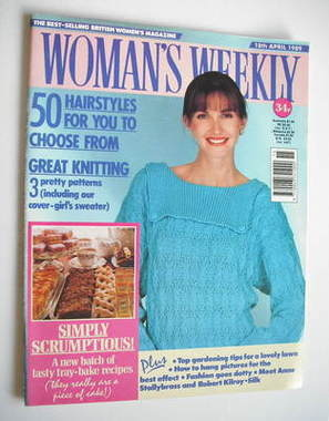 <!--1989-04-18-->Woman's Weekly magazine (18 April 1989 - British Edition)
