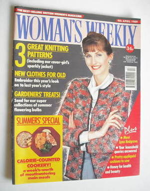 <!--1989-04-04-->Woman's Weekly magazine (4 April 1989 - British Edition)
