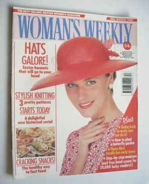 <!--1989-03-28-->Woman's Weekly magazine (28 March 1989 - British Edition)