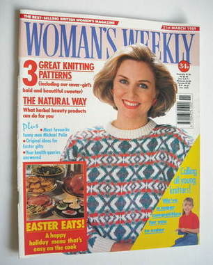 <!--1989-03-21-->Woman's Weekly magazine (21 March 1989 - British Edition)