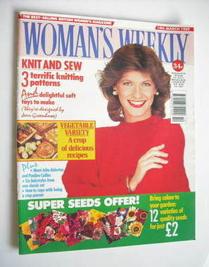 <!--1989-03-14-->Woman's Weekly magazine (14 March 1989 - British Edition)