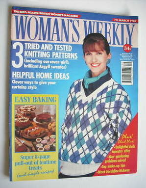 <!--1989-03-07-->Woman's Weekly magazine (7 March 1989 - British Edition)