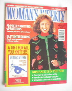 <!--1989-02-14-->Woman's Weekly magazine (14 February 1989 - British Editio