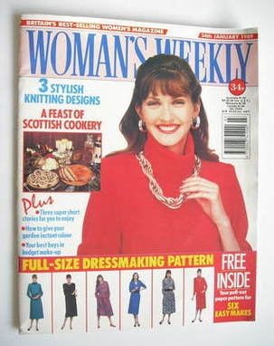 <!--1989-01-24-->Woman's Weekly magazine (24 January 1989 - British Edition