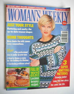 <!--1989-01-17-->Woman's Weekly magazine (17 January 1989 - British Edition