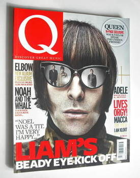 Q magazine - Beady Eye cover (March 2011)