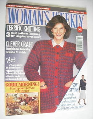 <!--1990-01-16-->Woman's Weekly magazine (16 January 1990)