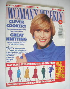 <!--1990-02-13-->Woman's Weekly magazine (13 February 1990)