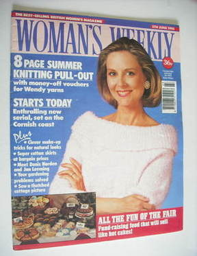 <!--1990-06-05-->Woman's Weekly magazine (5 June 1990)