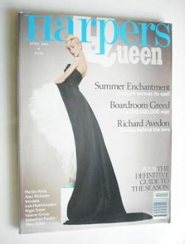 British Harpers & Queen magazine - April 1995
