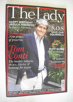 <!--2011-03-22-->The Lady magazine (22 March 2011 - Tom Conti cover)