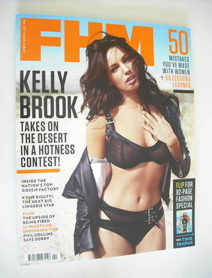 <!--2011-04-->FHM magazine - Kelly Brook cover (April 2011)