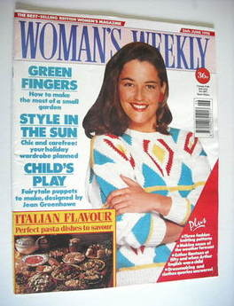 <!--1990-06-26-->Woman's Weekly magazine (26 June 1990)