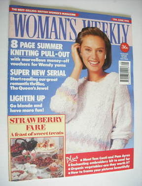 <!--1990-06-19-->Woman's Weekly magazine (19 June 1990)