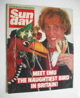 <!--1984-12-16-->Sunday magazine - 16 December 1984 - Rod Hull and Emu cover