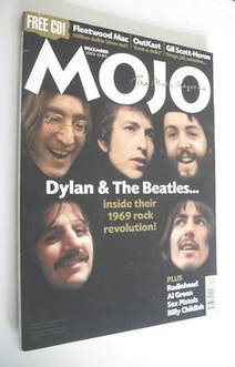 <!--2003-12-->MOJO magazine - Bob Dylan and The Beatles cover (December 200