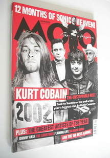 <!--2003-01-->MOJO magazine - Kurt Cobain cover (January 2003 - Issue 110)